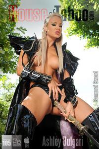 Ashley Bulgari – Samurai In Crotchless Panties!