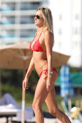 Лорен Стоунер, фото 7. Lauren Stoner looking mighty hot in a red bikini [LQ and Tagged], foto 7