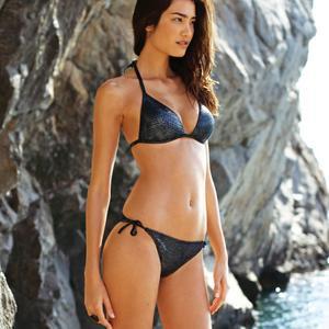 Жулиана Имаи, фото 13. Juliana Imai 3Suisses 2011 SwimWear Collection, photo 13