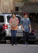 th 55584 Selena5 123 744lo Selena Gomez   at a restaurant in Hollywood 01/10/2012