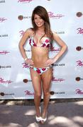 Lara Croft in a tiny bikini at GO Pool Flamingo in Las Vegas 17-07-2011