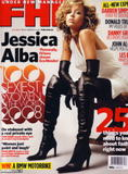 Jessica Alba as sexiest women in 2008 in FHM Magazine Australia - 100 sexiest women in the world 2008 issue