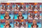 Karen Barber - legs and thigh - Dancing On Ice Friday 12th March 2010